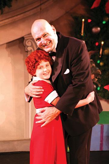 "Watch out, Daddy Warbucks; Beloved musical ""Annie"" returns to Springfield Symphony Hall annieanddaddywarbucks.jpg"
