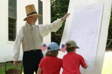 Fireworks, family fun highlight Old Sturbridge Village July 4 celebration osv-visitors-sign-declarati.jpg